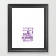 Camera Sketch 4 Framed Art Print