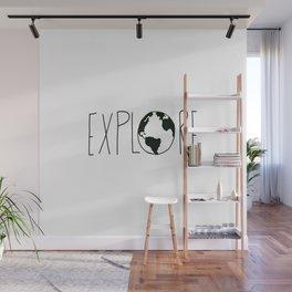 Explore the Globe x BW Wall Mural