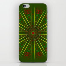 Greens and Reds iPhone & iPod Skin