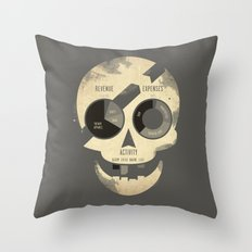 PieRates Throw Pillow