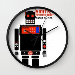 Smith, Robit: (Secret) Agent Edition Wall Clock