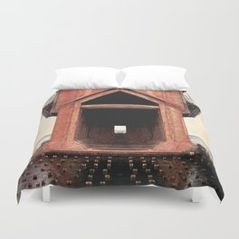Old Iron Ore Dock Duvet Cover