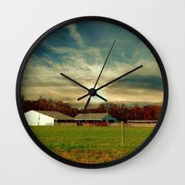 Rural America Wall Clock