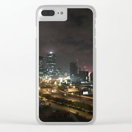 East London Clear iPhone Case