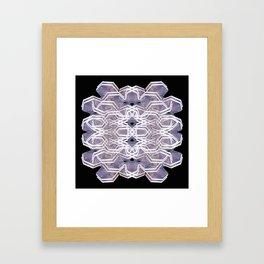 tribal space Framed Art Print