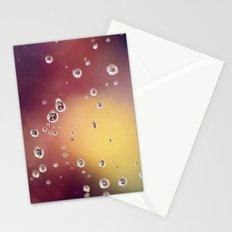 Raindrops II Stationery Cards