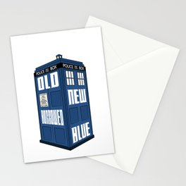 Something Old, New, Borrowed, Blue Stationery Cards
