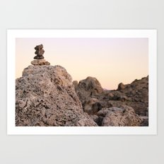 Lunar Landscape Art Print