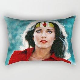 Wonder Linda  Rectangular Pillow