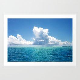 Magic water Art Print