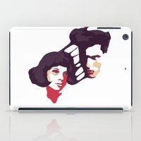 lovers iPad Cases featuring Lovers by Ralph Moreau