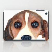 beagle iPad Cases featuring Beagle by Carmen Lai Graphics