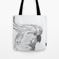 rio Tote Bags featuring Rio by Amy Lawlor Creations