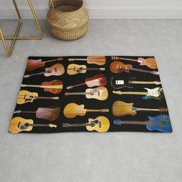 Guitars Galore Rug