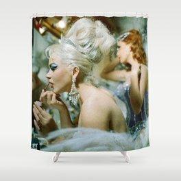 Las Vegas Showgirls 1960 Shower Curtain