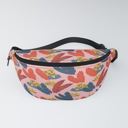 Leopards in the forest // Forest collection // Pattern design Fanny Pack