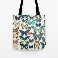wings Tote Bags featuring Wings by Cassia Beck