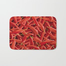 Too many Chillies Bath Mat
