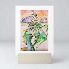 Cecil in the Seaweed Mini Art Print