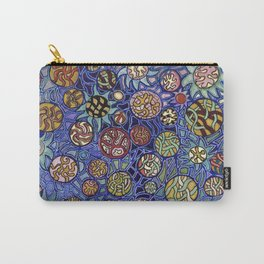 Flower Collage Abstract Carry-All Pouch