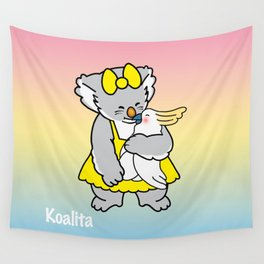Koalita and friend Wall Tapestry