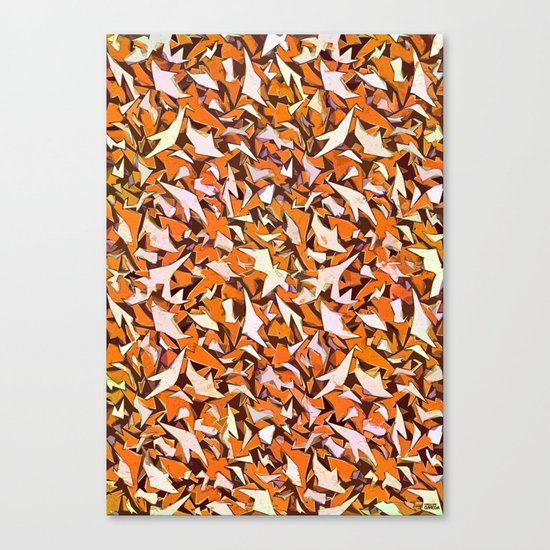 all over it Canvas Print