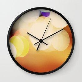 City Blur Wall Clock