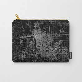 Tulsa map Oklahoma Carry-All Pouch