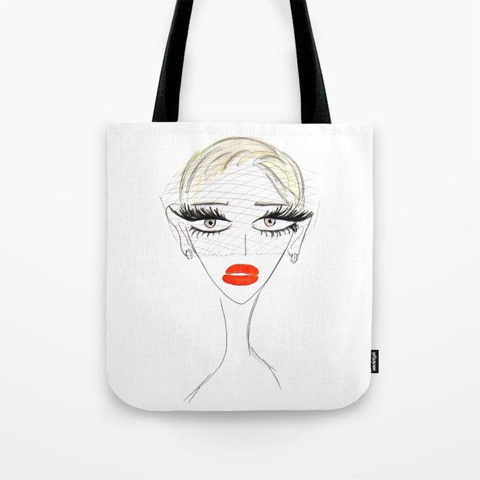 Retro Chic Tote Bag