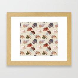 Hermit Crabs Framed Art Print