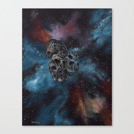 "Surreal space art, ""Ultima Thule"" Canvas Print"