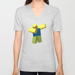 Dab Roblox Kids Unisex V-Neck