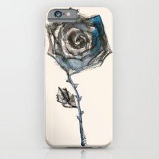 Royal Blue Rose Slim Case iPhone 6s