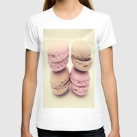 macaroons T-shirts featuring macaroons by  Alexia Miles photography