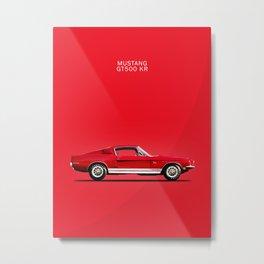 Mustang Shelby GT500 KR Metal Print