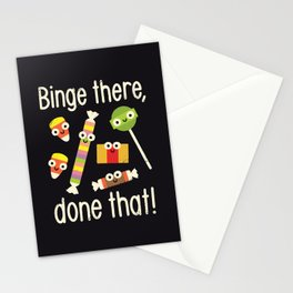 Half in the Bag Again Stationery Cards