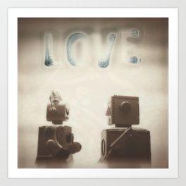 Love is Best When It Isn't Perfect Art Print