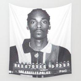 Snoop Dogg Mugshot Wall Tapestry