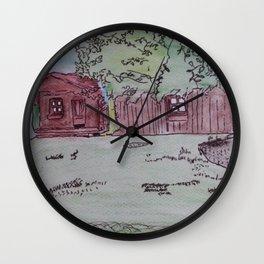 In Meinen Garten Wall Clock