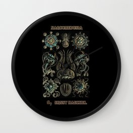 """""""Narcomedusia"""" from """"Art Forms of Nature"""" by Ernst Haeckel Wall Clock"""