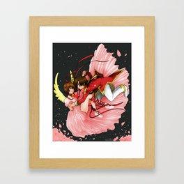 Together to eternity Framed Art Print