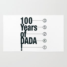 100 Years of DADA Rug