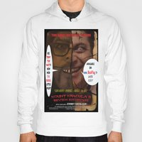 minions Hoodies featuring Kount Kracula's Review Showcase -TV Show Promo Poster  by Tex Watt
