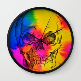 Ode To Skully Wall Clock