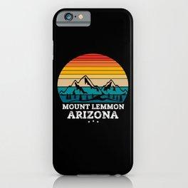 MOUNT LEMMON Arizona iPhone Case