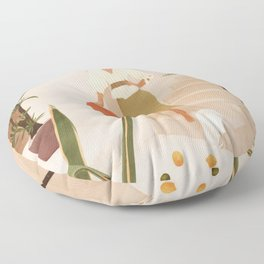 Wonders of the New Day Floor Pillow
