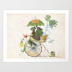 The Life Cycle Art Print