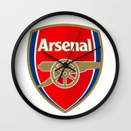 Arsenal Logo Wall Clock