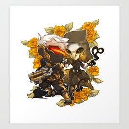 R76 Love Blossom Art Print