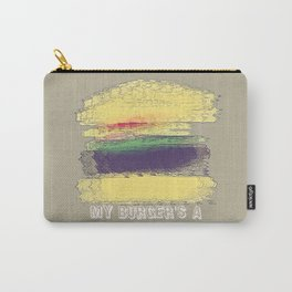 Veggie Burger  Carry-All Pouch